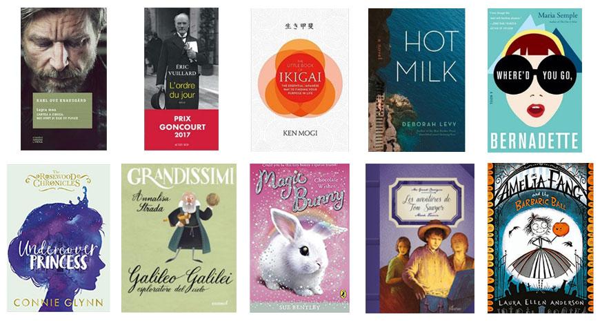 Lecturile anului 2018 de la Litera și Litera Mică