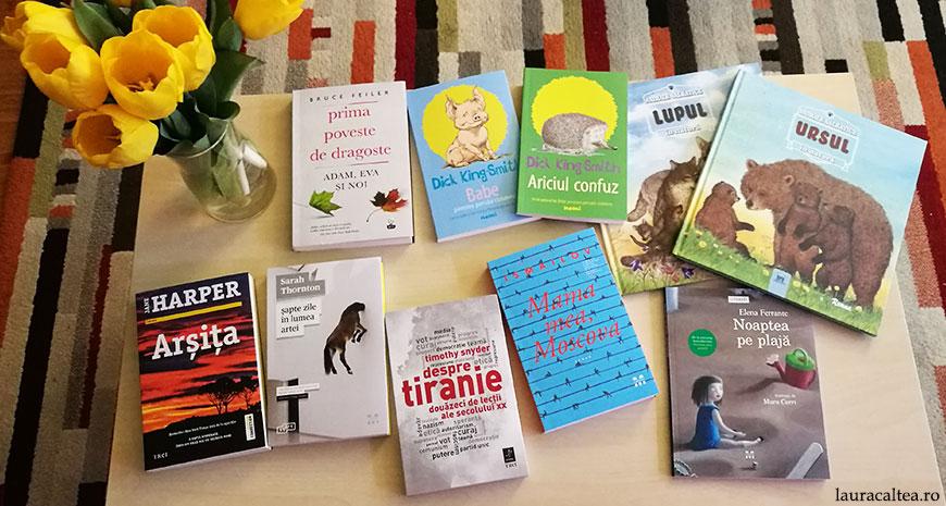 Noutăți literare 19-25 februarie 2018