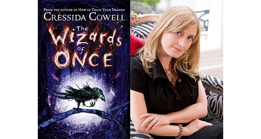 "Cressida Cowell câștigă Blue Peter Book Award pentru ""The Wizards of Once"", în curs de apariție la Nemi"