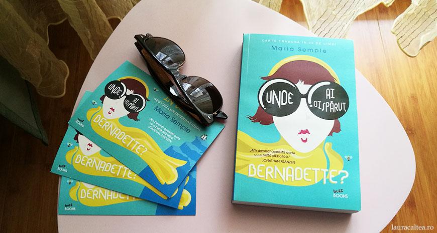 """Concurs Editura Litera: câștigă 3 volume din bestsellerul """"Unde ai dispărut, Bernadette?"""", de Maria Semple [încheiat]"""