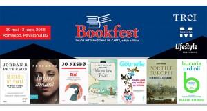 Noutățile Grupului Editorial Trei la Bookfest 2018